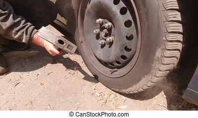 roues, réparation voiture
