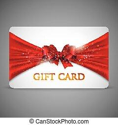 rouges, carte don, arc