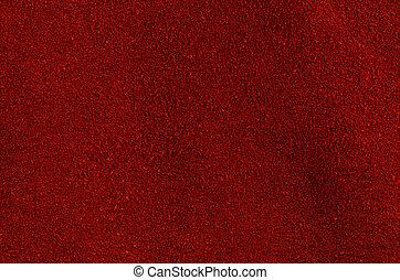 rouges, cuir