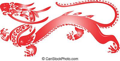 rouges, dragon
