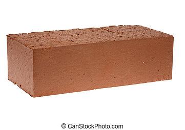 rouges, solide, brique
