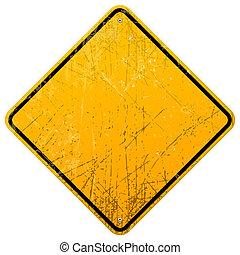 rouillé, signe jaune