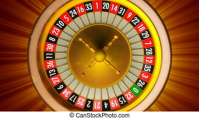 roulette, rayons