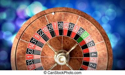 roulette, roue casino