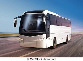 route, autobus