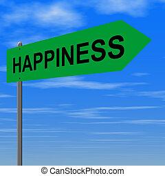 route, bonheur