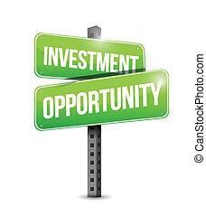 route, occasion, investissement, illustration, signe