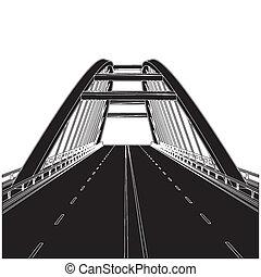 route, pont