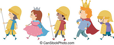 royal, parade