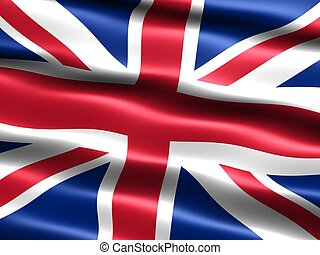 royaume, uni, flag: