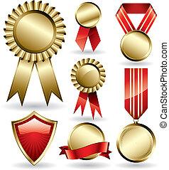 rubans, récompense