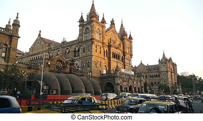 rue, inde, mumbai