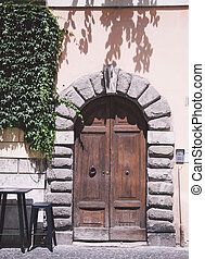 rues, portes, rome