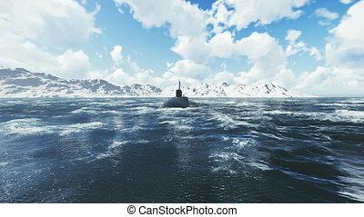 russe, sous-marin, propulsion nucléaire