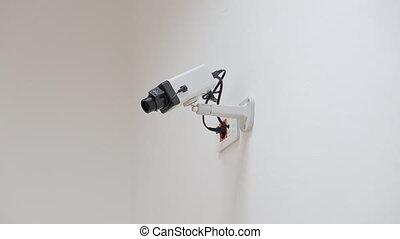 sécurité, appareil-photo cctv