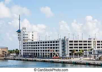 sécurité bâtiment, construction, port