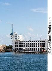 sécurité bâtiment, construction, port, sous
