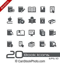 //, série, élémentsessentiels, livre, icônes