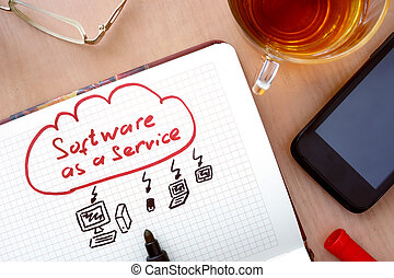 saa, s, logiciel, service