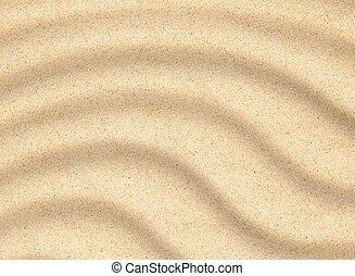 sable, closeup, texture, plage