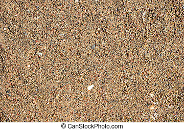 sable, mouillé