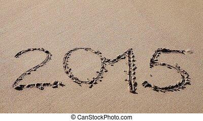 sable, signe, dessiné, 2015
