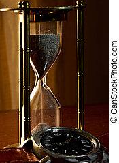 sablier, horloge