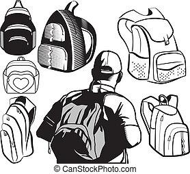 sac à dos, collection