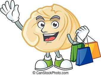 sac, boulette, onduler, achats, tenue, riche, heureux