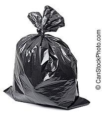 sac, déchets ménagers, gaspillage, déchets
