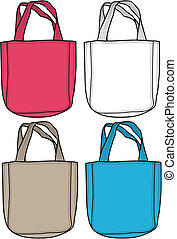 sac, mode, illustration