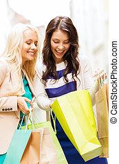 sacs, filles, achats, ctiy