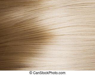 sain, cheveux, blonds