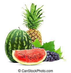 sain, fruit frais, coloré