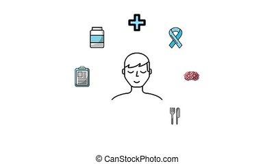 sain, monde médical, style de vie