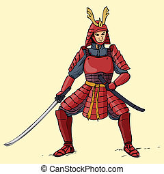 samouraï, blindé