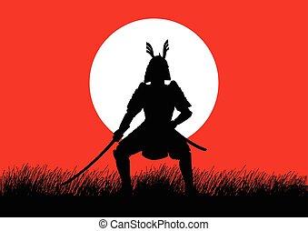 samouraï, général