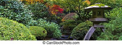 sanctuaire, jardin japonais