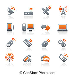 sans fil, communications, /graphite, &