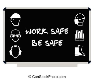 santé, message, sécurité