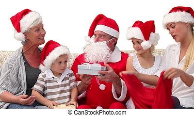 santa, dons, claus, donner