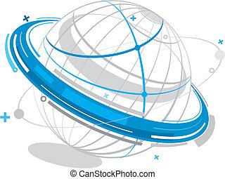 satellite, électronique
