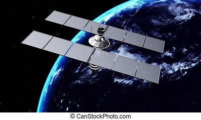satellite, artificiel