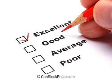 satisfaction, enquête