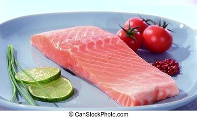 saumon, filet