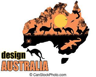 sauvage, affiche, australie