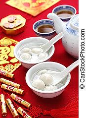 saveur forte, nourriture, yuan, xian, yuan chinois