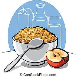 savoureux, cornflakes