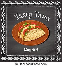 savoureux, tacos