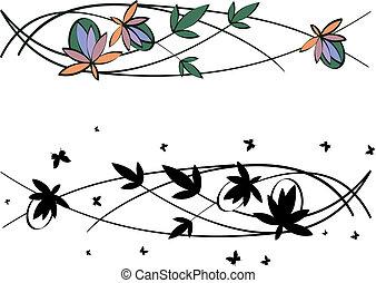 schémas floraux, ensemble